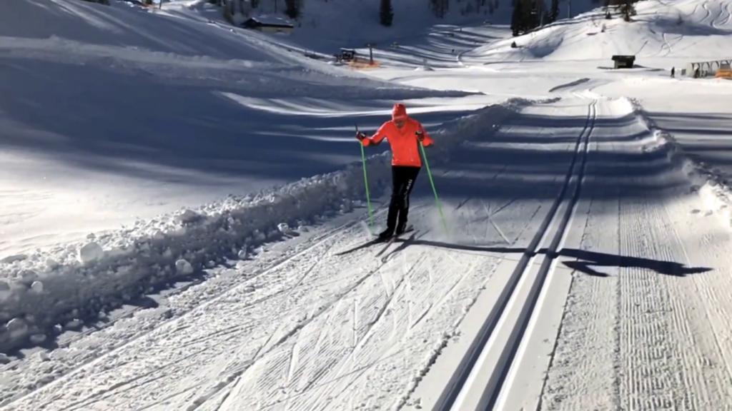 Langlauf Kurs Skating