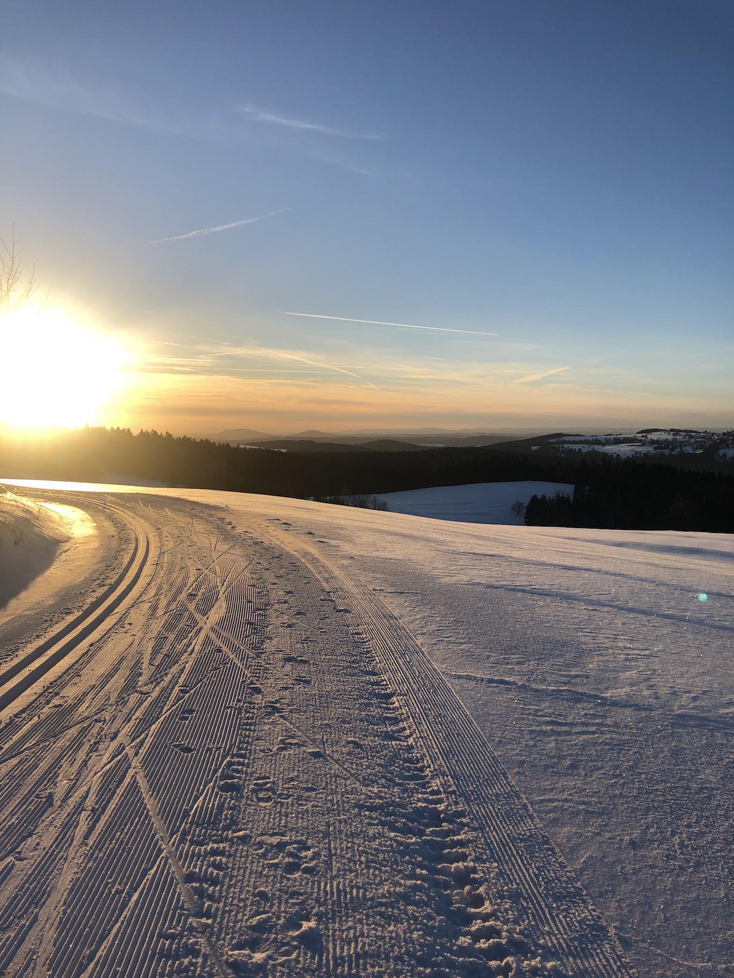 Langlauf lernen im Thüringer Wald