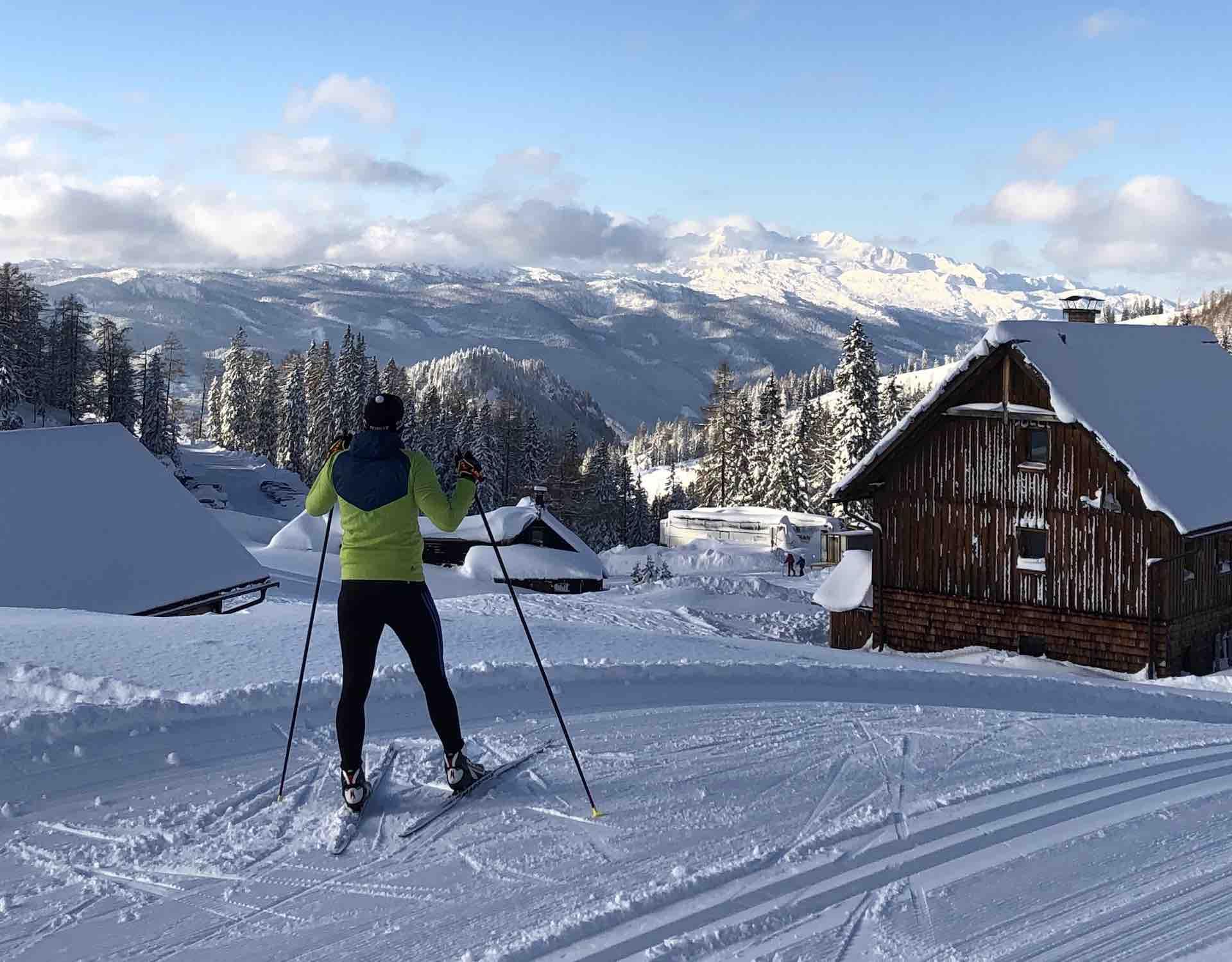 Langlaufen lernen tipps Nordic Academy Hasi mit tollen Ausblicken