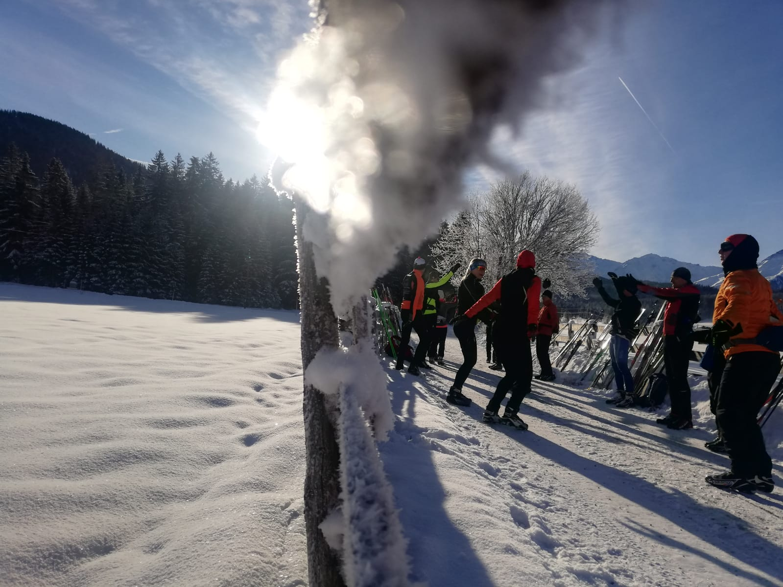 Langlauf Technik Trainingslager Winterwonderland